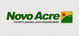 "NOVO SLOGAN DO GOVERNO DO ACRE  ""NOVO ACRE"""
